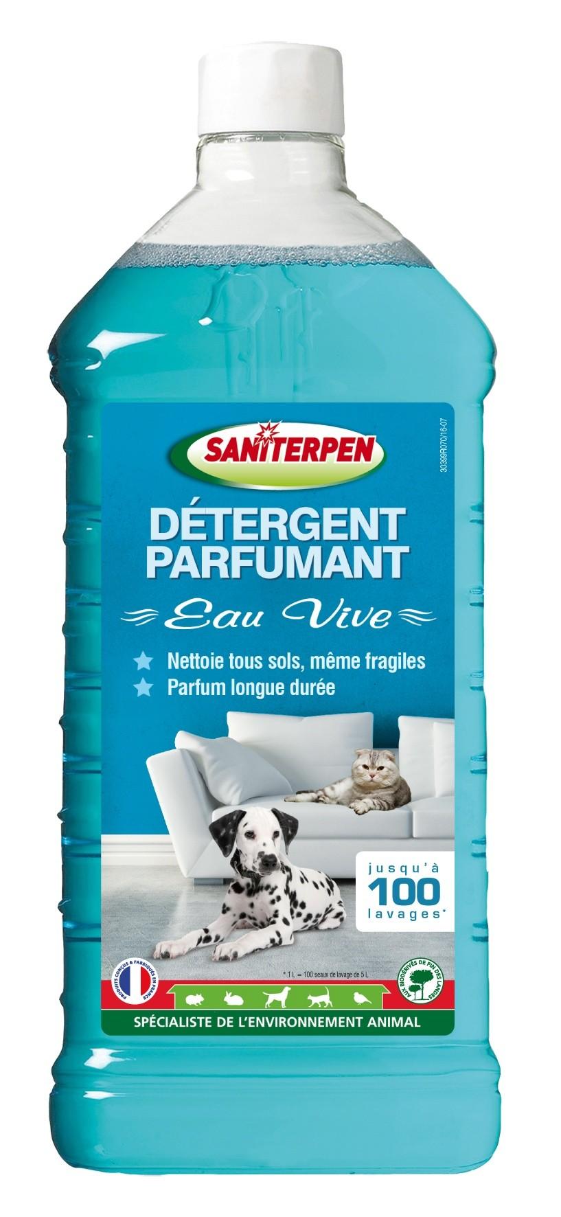 Saniterpen Détergent Parfumant Eau Vive 1L