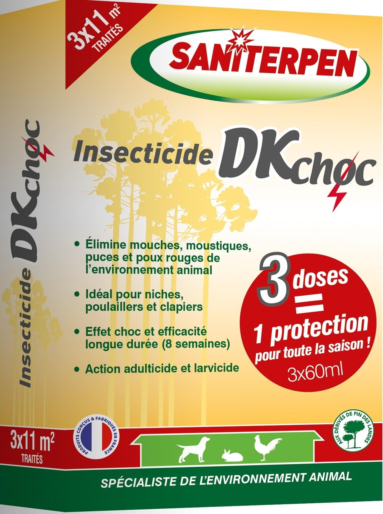 Saniterpen Etui Insecticide DKCHOC 3x60 ml