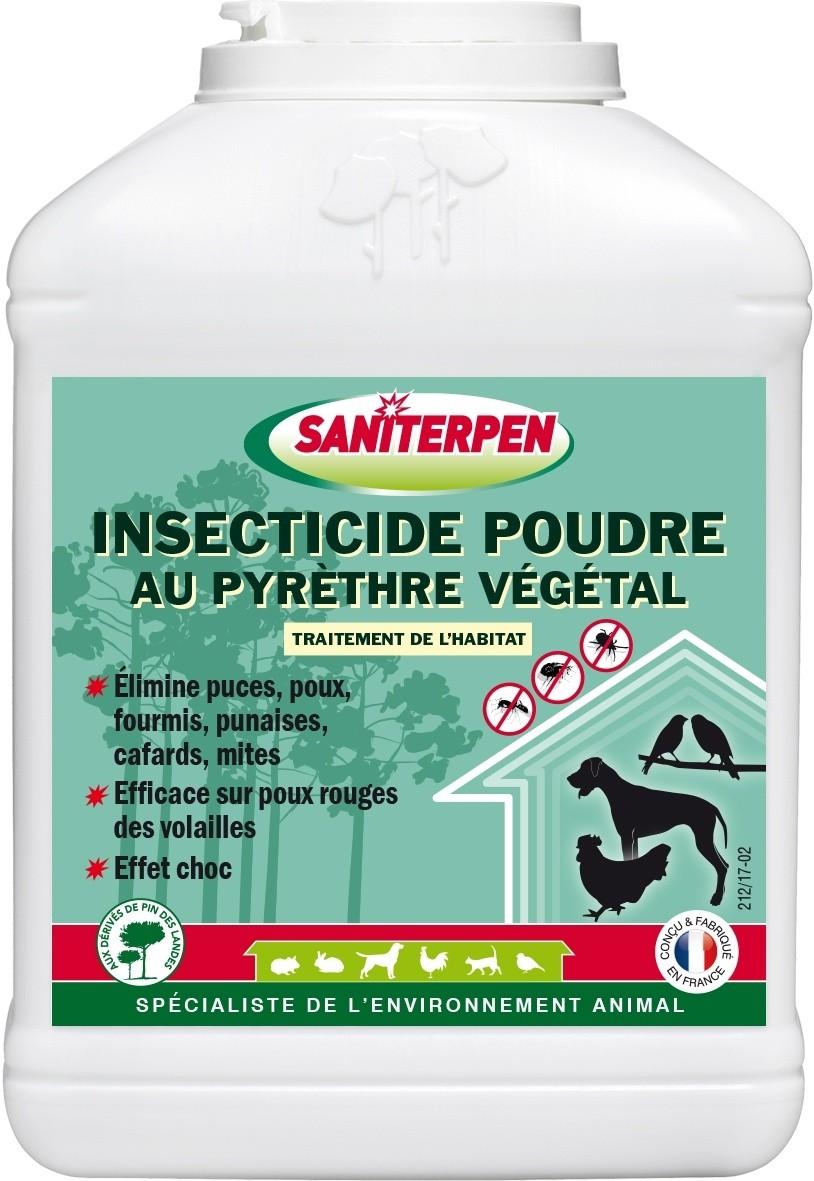Saniterpen Poudre au Pyréthre végétal 250g et 500g