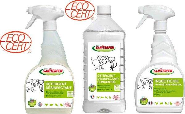 gamme écologique Saniterpen