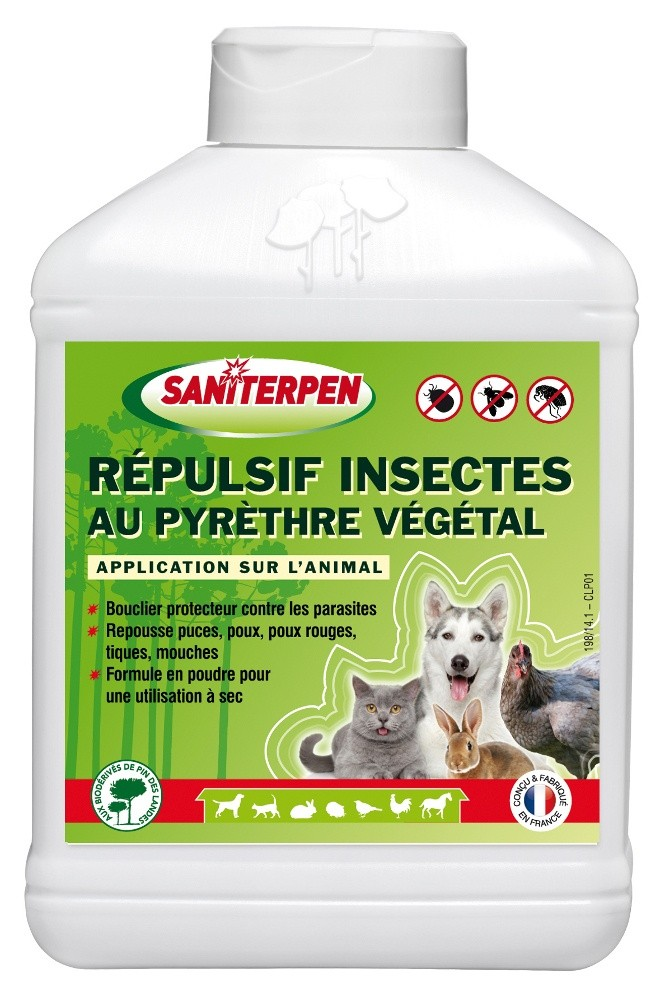 Répulsif insectes au pyrèthre végétal 200g