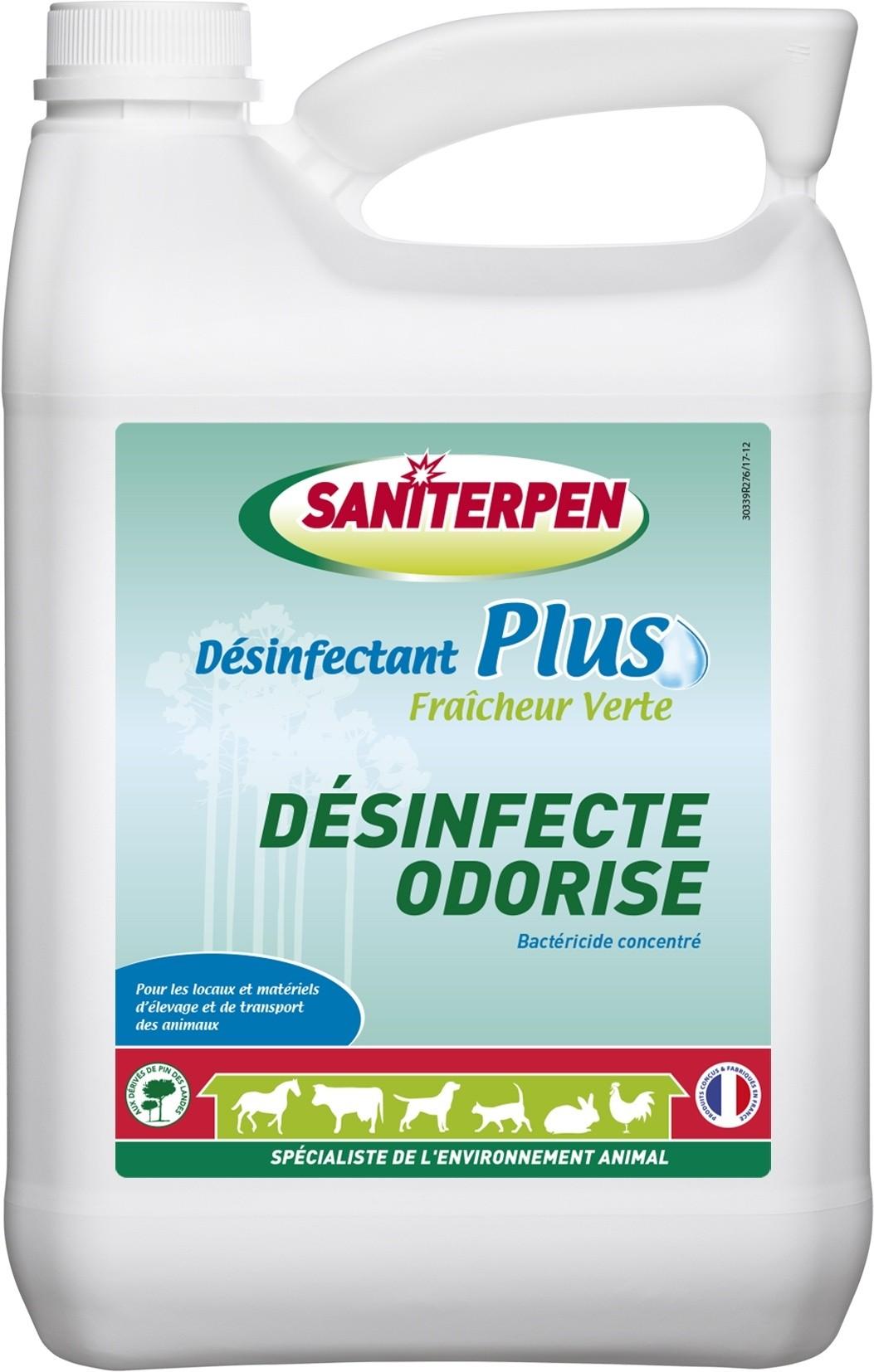 SANITERPEN Désinfectant Plus 5L