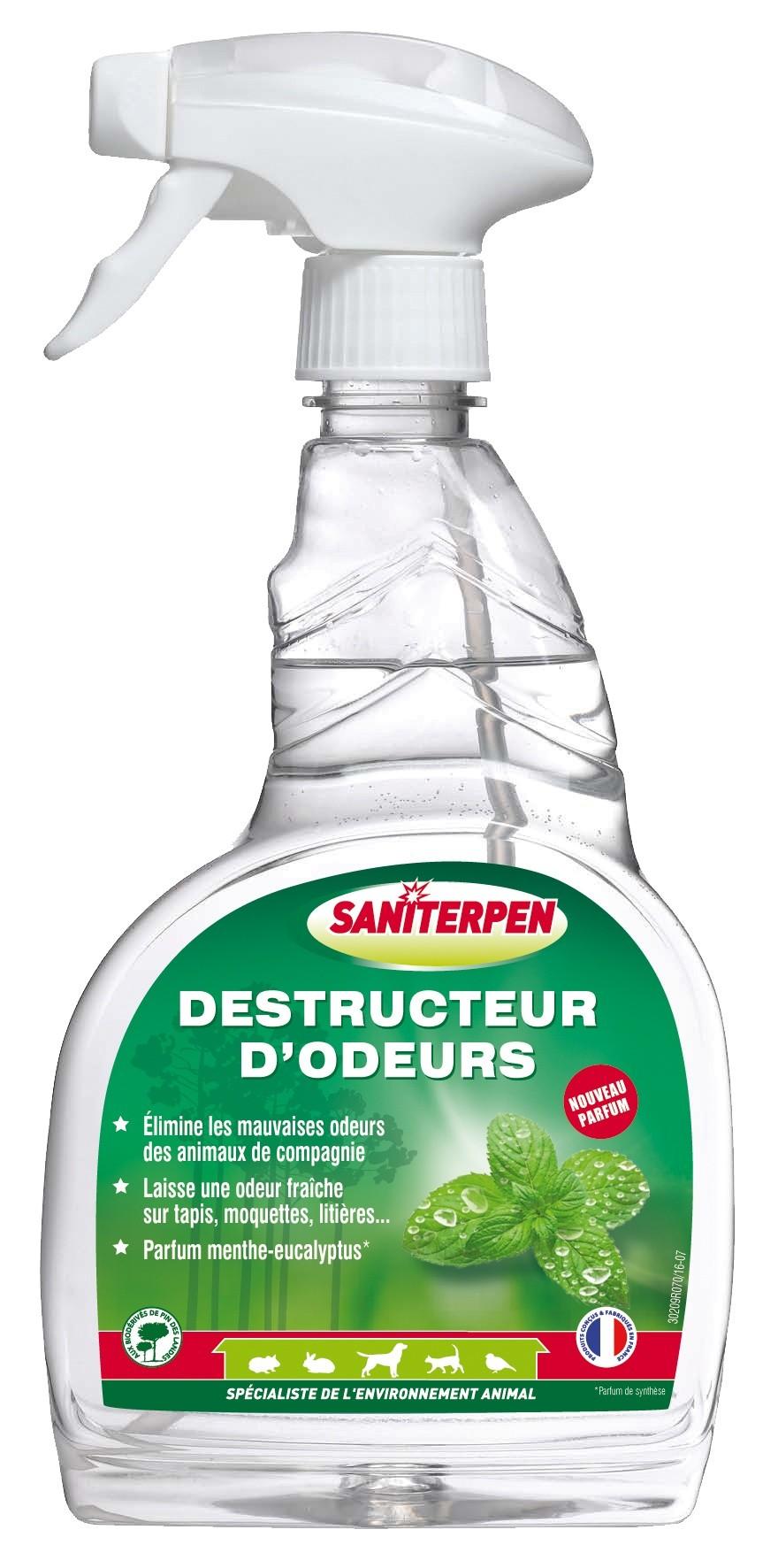 Saniterpen Destructeur d'odeurs Pulvérisateur 750 ml