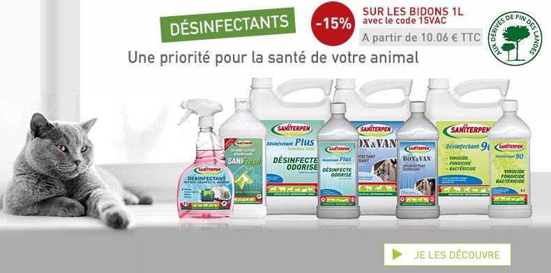 [PART] Désinfectants -15% 15VAC
