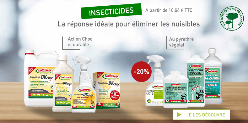 Insecticides Saniterpen 2019