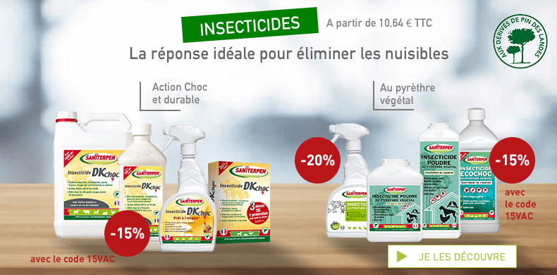 [PART] Insecticides -15% 15VAC