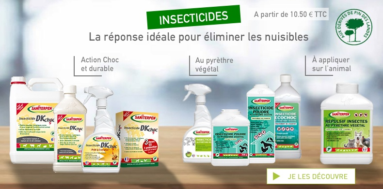 Insecticides Saniterpen