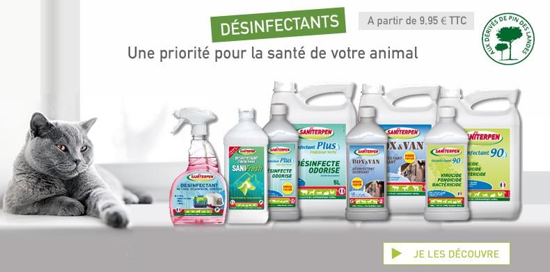 Désinfectants Saniterpen